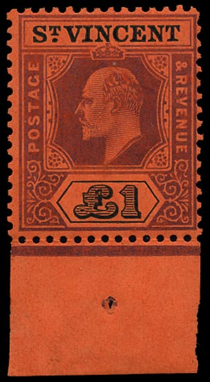 ST VINCENT 1904  SG93 Mint