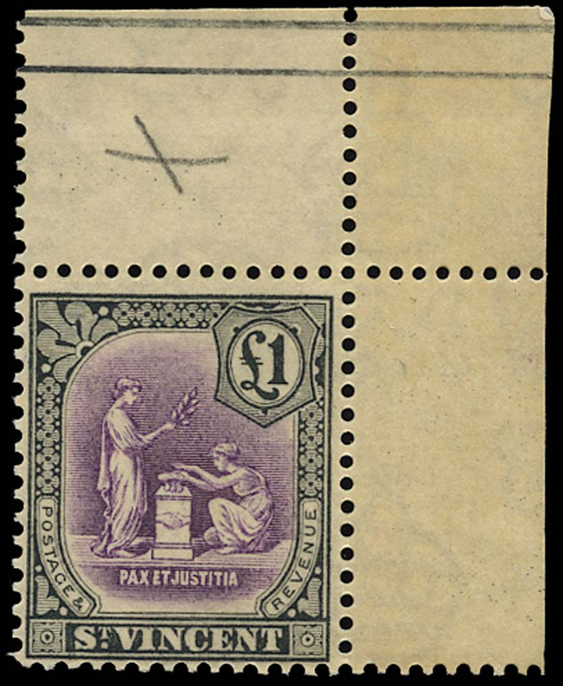 ST VINCENT 1921  SG141 Mint