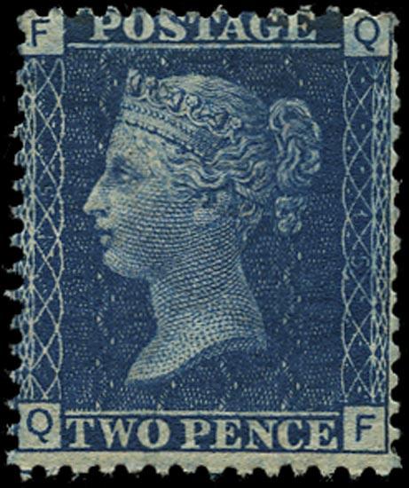 GB 1876  SG46 Pl.15 Mint unused o.g. example
