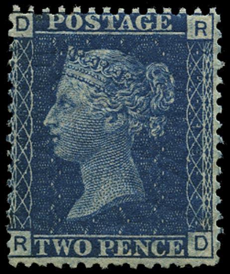 GB 1876  SG46 Pl.15 Mint U/M o.g. example