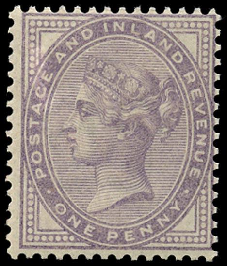 GB 1881  SG170var Mint unused o.g. example