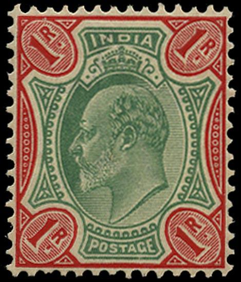 INDIA 1902  SG137 Mint