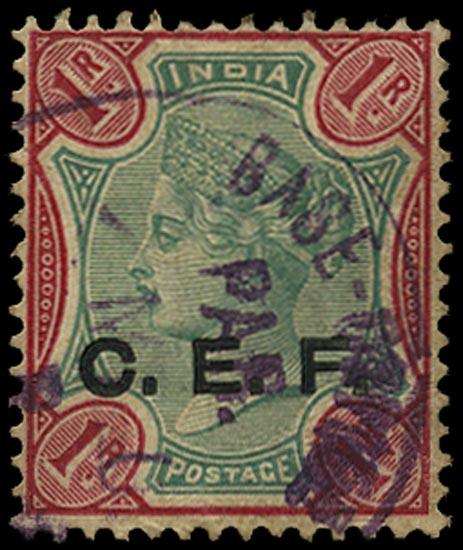 INDIA CEF 1900  SGC10 Cancel