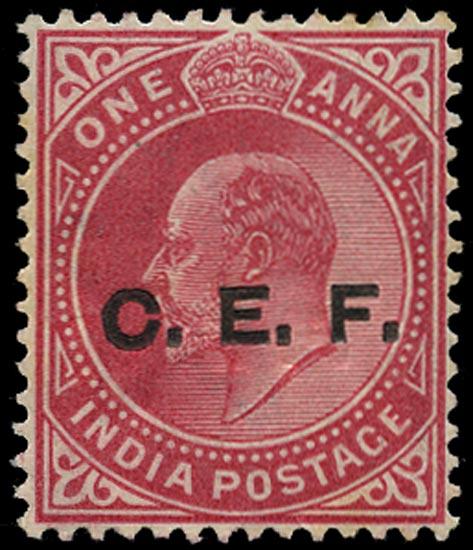 INDIA CEF 1905  SGC13a Mint