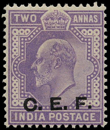 INDIA CEF 1905  SGC14a Mint
