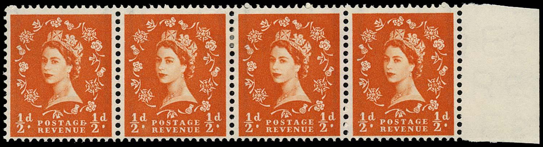 GB 1957  SG561var Mint