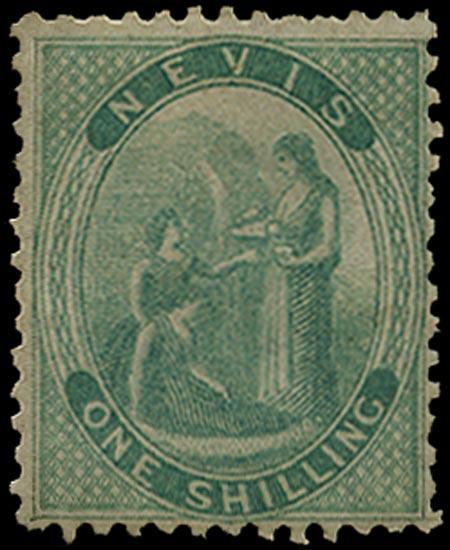 NEVIS 1862  SG4 Mint