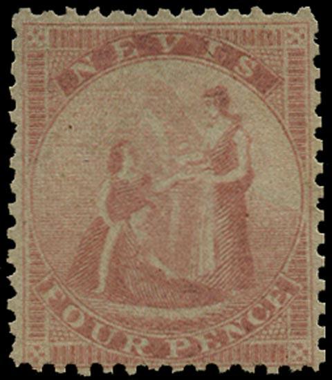 NEVIS 1862  SG2 Mint