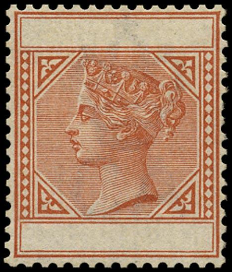NEVIS 1883  SG33 Colour Trial