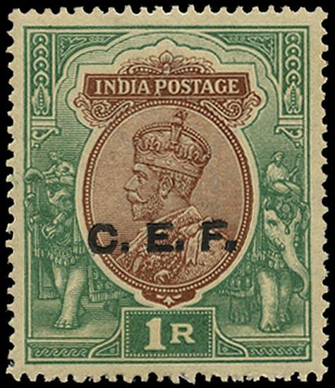 INDIA CEF 1914  SGC34 Mint