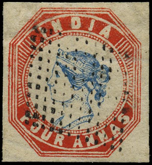 INDIA 1854  SG23 Used
