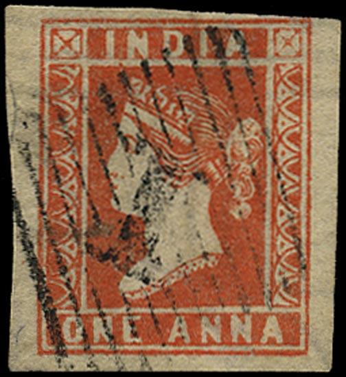 INDIA 1854  SG14 Used