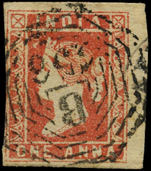 BURMA 1854  SG. Cancel