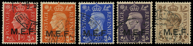 B.O.I.C. - M.E.F. 1942  SGM6/10 Used