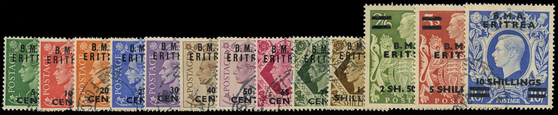 B.O.I.C. ERITREA 1948  SGE1/12 Used