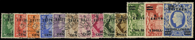 B.O.I.C. ERITREA 1950  SGE13/25 Used