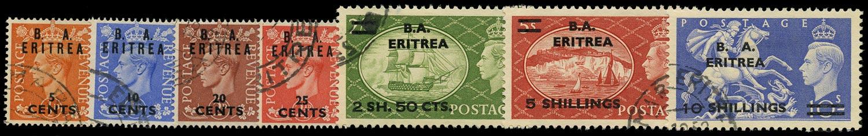 B.O.I.C. ERITREA 1951  SGE26/32 Used