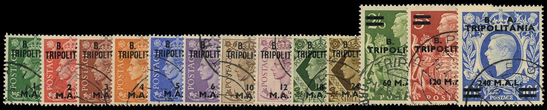 B.O.I.C.TRIPOLITANIA 1950  SGT14/26 Used
