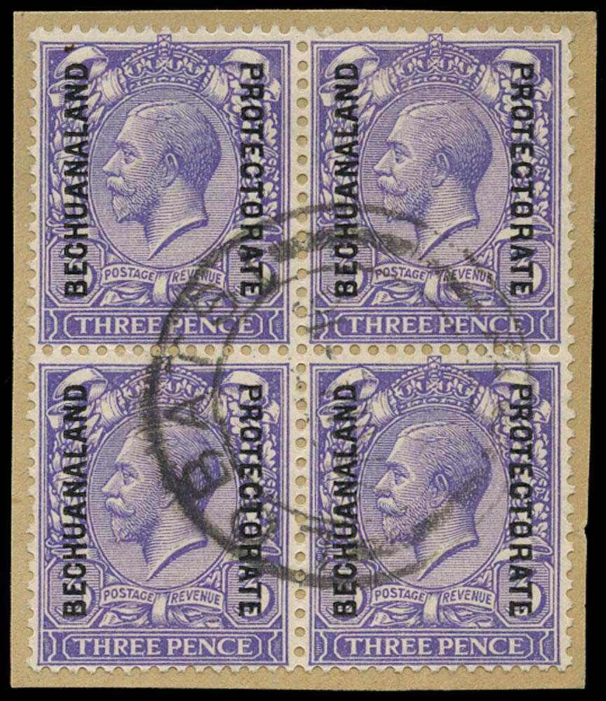 BECHUANALAND 1913  SG79 Used