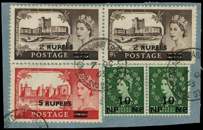BR PAs IN E ARABIA 1963  SG57, 83, 92 Cancel