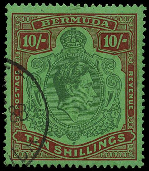 BERMUDA 1938  SG119 Used