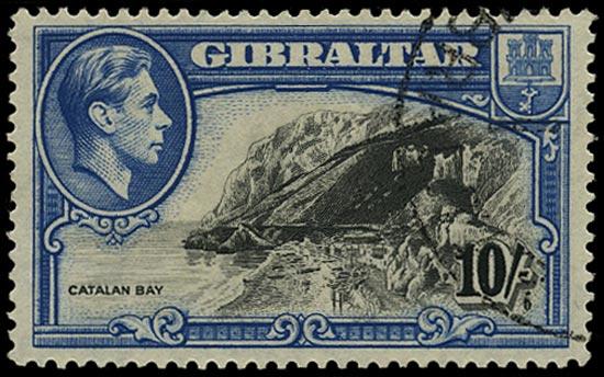 GIBRALTAR 1938  SG130 Used