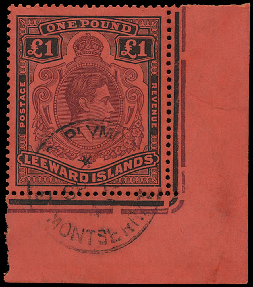 LEEWARD ISLANDS 1938  SG114 Used