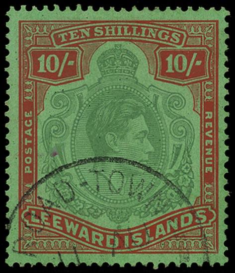 LEEWARD ISLANDS 1942  SG113a Used