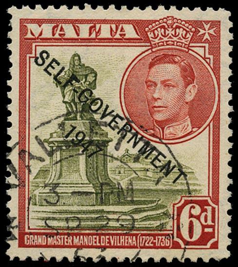 MALTA 1948  SG242b Used