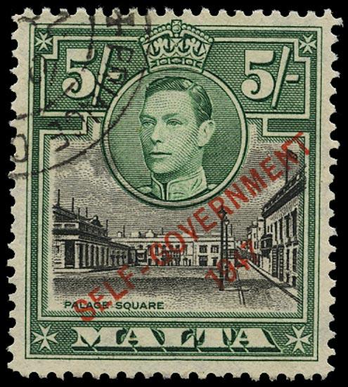 MALTA 1948  SG247a Used