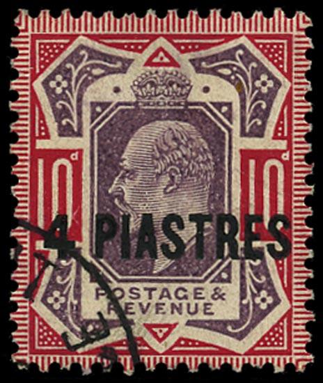 BRITISH LEVANT 1902-5  SG10ba Used