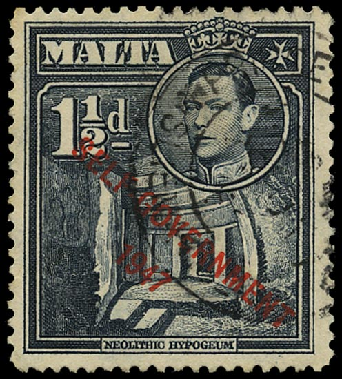 MALTA 1948  SG237aa Used