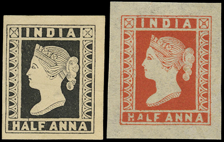 INDIA 1889  SG2/10 Reprint