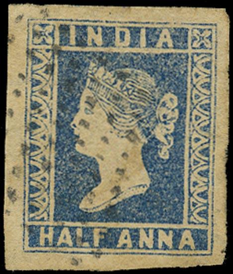 INDIA 1854  SG2 Used