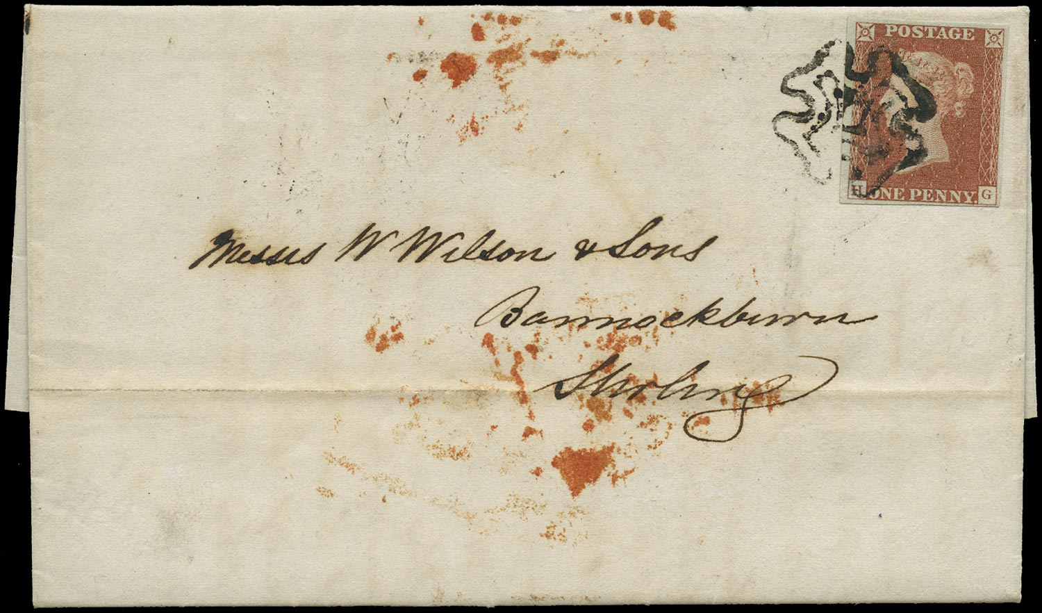 GB 1841  SG8 Pl.59 Cover