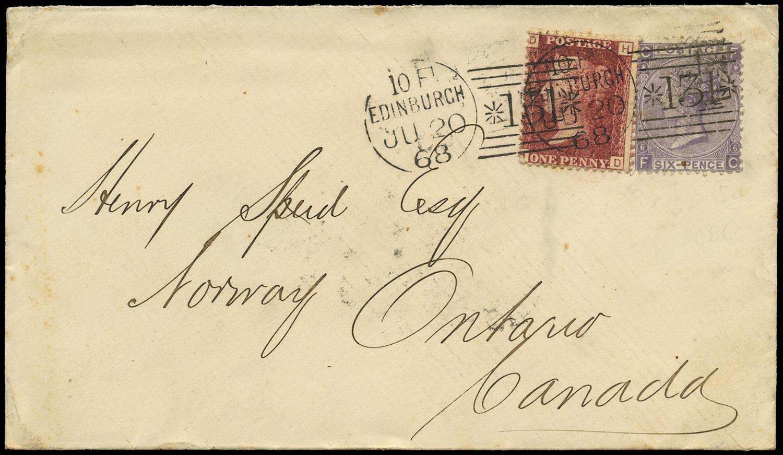 GB 1868  SG43,105 Cover