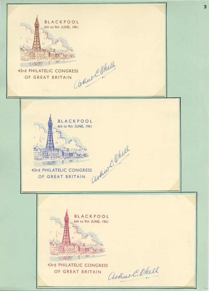 GB 1961 Cinderella - 43rd Philatelic Congress