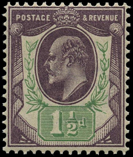 GB 1902  SG222 Mint U/M o.g. example
