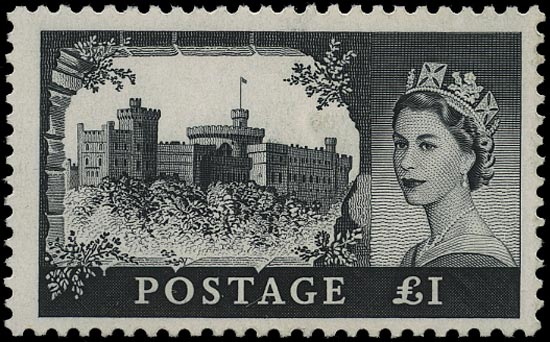 GB 1963  SG598ak Mint - Trial printing on chalk surfaced paper