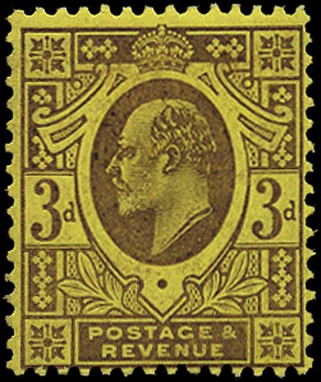 GB 1906  SG233b Mint U/M o.g. example