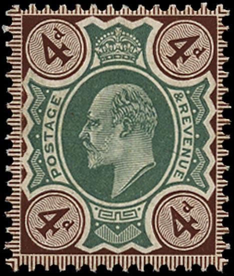 GB 1906  SG238 Mint U/M o.g. example
