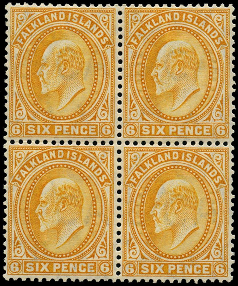 FALKLAND ISLANDS 1904  SG47 Mint