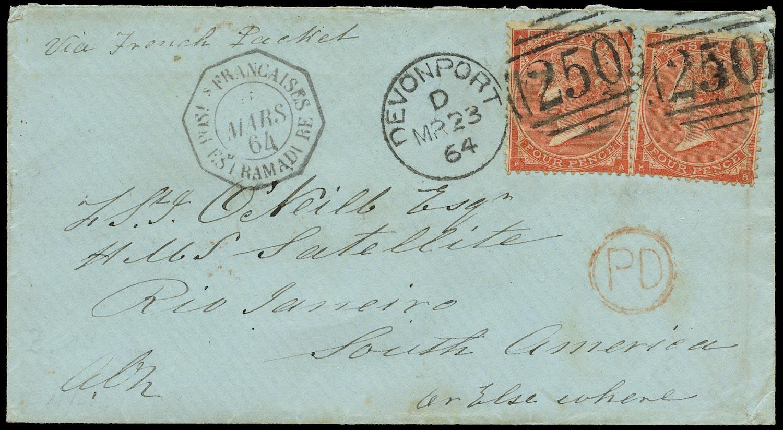 GB 1864  SG79 Pl.3 Cover