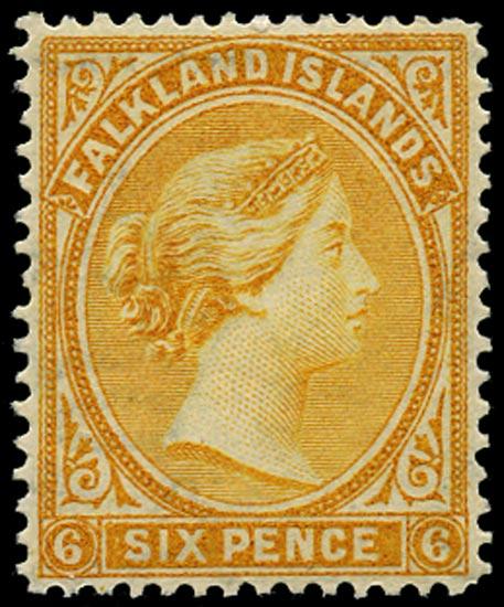 FALKLAND ISLANDS 1891  SG34 Mint