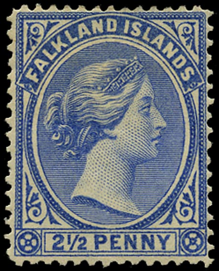 FALKLAND ISLANDS 1891  SG27 Mint
