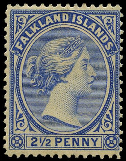 FALKLAND ISLANDS 1891  SG27 Mint