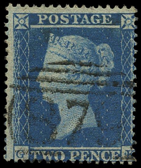 GB 1854  SG20 Pl.4 Used Wington