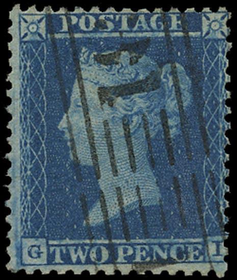 GB 1855  SG20a Pl.5 Used Edinburgh