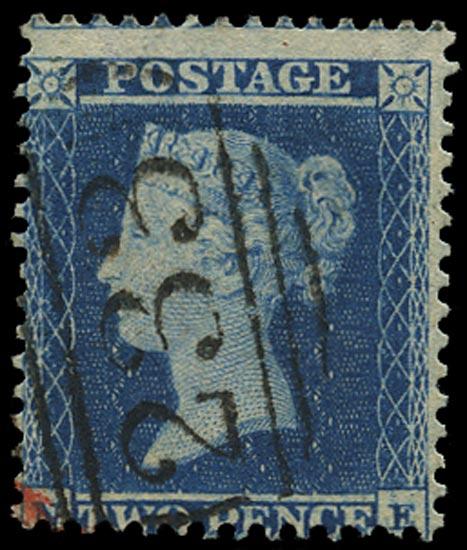 GB 1855  SG23a Pl.5 Used Darlington