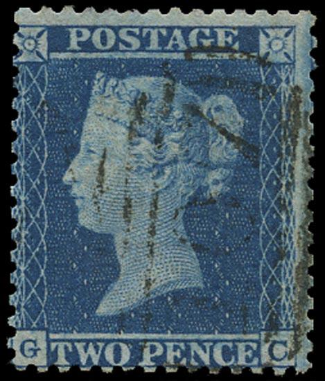 GB 1855  SG23a Pl.5 Used Bradford